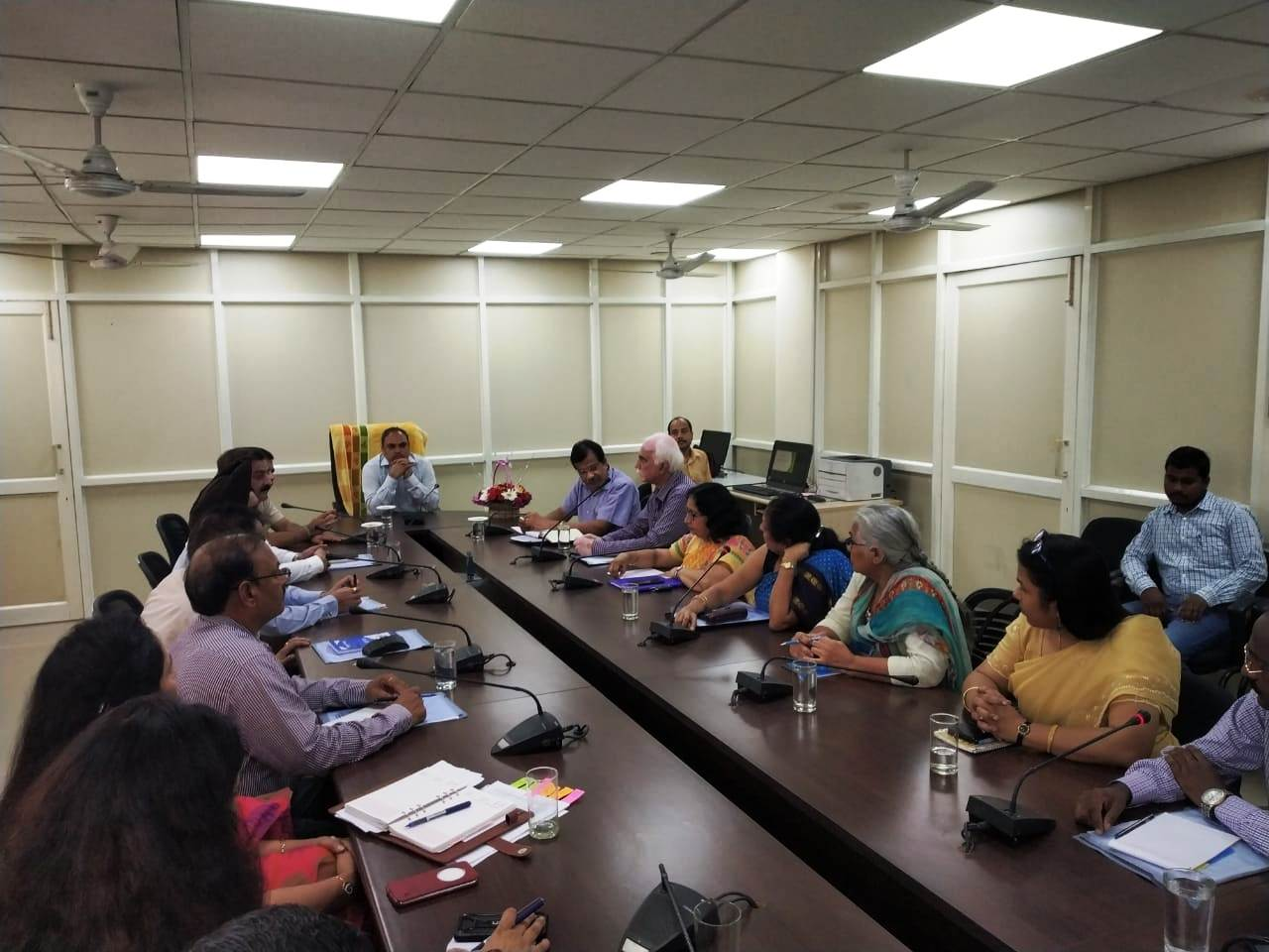 Meeting with Divisional In-charges