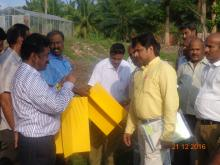 Demonstration of Yellow Sticky trap during RSW